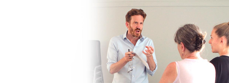 Nick Thompson Speaking at a seminar